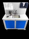 Child Sanitizing Station  30″ High Single-Basin  Model: HWS-007