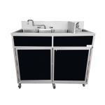 NSF Certified Four Basin Utensil Washing Self Contained Sink  Model: NS-004