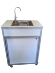 Single Basin Self Contained Portable Sink  Model: PSF-101A