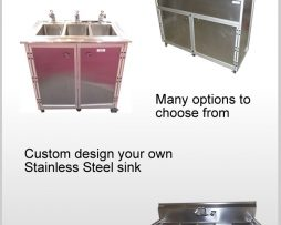 Stainless Steel Portable Sinks